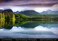 Slovakia - High Tatras Mountains - Divine light at Štrbské pleso - Mountain Glacial Lake at m ft) High Tatras, Exposure Time, Heart Of Europe, Divine Light, Get Outside, Travel Photography, Beautiful Places, Places To Visit, Mountains