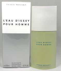 L'eau De Issey By Issey Miyake For Men. Eau De Toilette Spray 6.7 Oz  http://www.themenperfume.com/leau-de-issey-by-issey-miyake-for-men-eau-de-toilette-spray-6-7-oz-3/