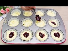 Recept za 1 minútu a bez oleja! Vyrábať ich budete každý deň! # 159 - YouTube Muffin Recipes, Cake Recipes, Muffins, Breakfast Cupcakes, Cooking For One, Something Sweet, Cheesecake, Food And Drink, Sweets