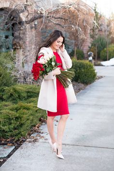 An Early Valentine {date night beauty must-haves}. - Pink Peonies by Rach Parcell - Total Street Style Looks And Fashion Outfit Ideas Valentine Outfits For Women, Valentines Day Dresses, Valentines Day Date, Date Outfits, Night Outfits, Dressy Outfits, Work Outfits, Casual Wear, Valentine's Day Outfit