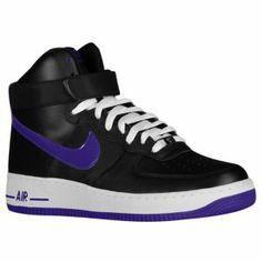 the latest 83273 2efba Nike Air Force 1 High - Mens - BlackCourt Purple Air Force 1 High
