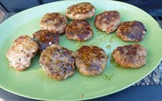 Hot Italian Sausage Burgers with Peppers and Onions at Surviving the Food Allergy Apocalypse