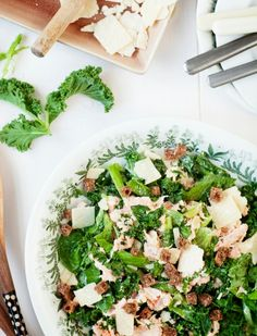 Palak Paneer, Cobb Salad, Ethnic Recipes, Food, Eten, Meals, Diet