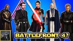 Star Wars: Die alternativen Charakter Konzepte von Star Wars Battlefront 4