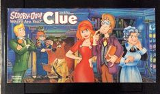 Parker Brothers 2002 Scooby Doo Clue Board Game 100 Complete Hasbro for sale online Mystery Board Games, Board Game Themes, Clue Board Game, Catan Board Game, Wooden Board Games, Vintage Board Games, Family Game Night, Family Games, Parker Brothers Games