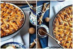 Baklava Bulgarian Food, Bulgarian Recipes, Waffles, Breakfast, Morning Coffee, Waffle