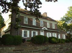 Pottsgrove Manor was built in 1752 and stands overlooking High Street in Pottstown.