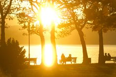 Sunset at lake Wörthersee. Photo: Franz Gerdl Klagenfurt, Celestial, Sunset, Places, Outdoor, Beautiful, Outdoors, Sunsets, Outdoor Games