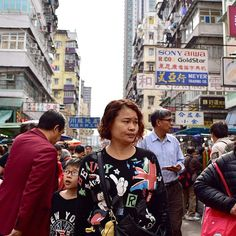Son: Where are we going?  Mom: Just follow me. . . . . #hongkong
