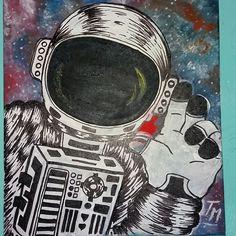 Astronauta en Oleo.