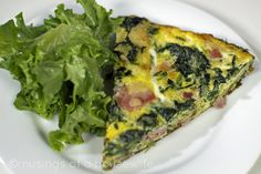 potato ham spinach frittata potato ham spinach frittata 185 saves