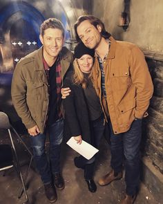 inthecityentertainmentSo excited for another fun Season with @jaredpadalecki @jensenackles these boys are incredibly amazing in every way...thanks guys for always welcoming me to set! #supernatural #bts #inthecityentertainment #thecw