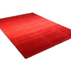 Wool Comfort - Ombre Red Rugs   Modern Rugs
