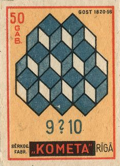 latvian matchbox label by maraid, via Flickr