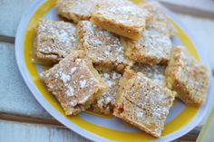 Gluten free rice krispies lemon bars for you Shannon Poulin