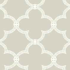 Serendipity Wallpaper in Grey design by York Wallcoverings