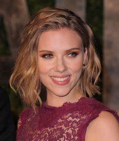 Best Celebrity Short Hair Styles   Beauty RSVP   Scarlett Johansson