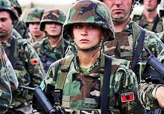 Albanian Military: Albanian Solider. NATO forces. Albanian People, Modern Pictures, Special Forces, Military History, Armed Forces, Vietnam, Military Uniforms, War, Iphone Wallpapers
