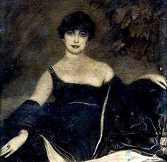 Art Deco Painting by Spanish Artist Federico Beltrán Masses