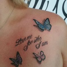 113 Gorgeous Butterfly Tattoos That You Must See!