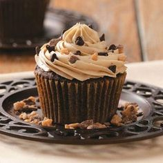 Toffee Mocha Cupcakes Recipe from Taste of Home