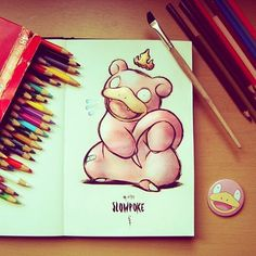 Slowpoke, my mascot, to remember my YouTube channel that is back on 21 March…