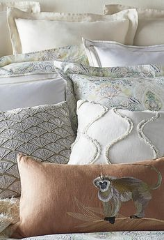 Slip into the serenity of a soft, transitional print on cool cotton percale.