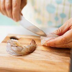 Peeling and Deveining Shrimp | CookingLight.com