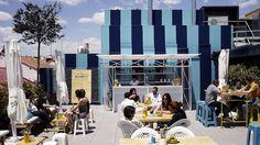 Terrazas en azoteas de Madrid