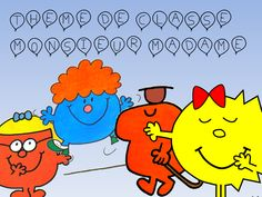 Thème de classe : Monsieur Madame - Méli-mélo d'une maîtresse Mr Men Little Miss, Album Jeunesse, Library Programs, Classroom Management, Literacy, School, Blog, Behaviour Chart, 7th Grade Classroom