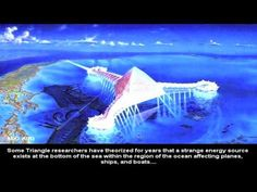 Huge Pyramid emerges in Bermuda Triangle with Glowing UFO - Dec 2015 !!! - YouTube
