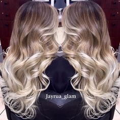 Client came back to retouch her ombré/balayage and to go lighter... When going blonde it's a must to use repair shampoo conditioner and repair mask once a week from Morrocanoil this are my favorites.