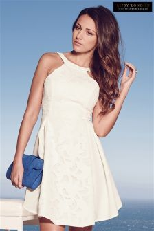 Michelle Keegan Lace Skater Dress