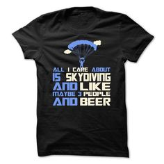 Awesome Skydiving Shirt - #diy tee #gray sweater. OBTAIN => https://www.sunfrog.com/Funny/Awesome-Skydiving-Shirt-31847520-Guys.html?68278