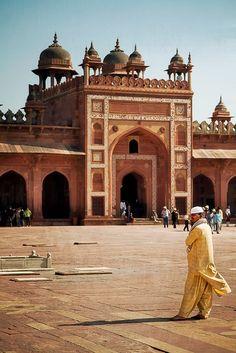 Fatehpur Sikri Mosque, Agra.
