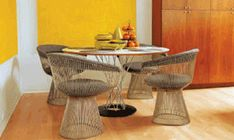 Dining Room Tables for Small Spaces; Designs and Inspirations : Elegant Dining Room Tables For Small Space With Four Chairs