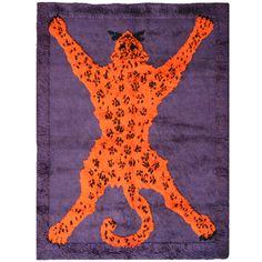 Carpet 'Tiger', by Gabetti e Isola, Arbo Torino, 1970