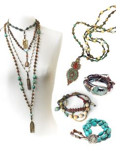 Boho Jewelry Necklaces | 2004 - 2015 sandrayoungerjewelry.com. All rights reserved. Powered ...