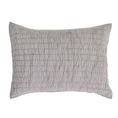 Bring class and texture to your by adding our Rochelle Grey #Quilted Standard Shams to your ensemble.  https://www.uptowncasual.com/products/rochelle-grey-quilted-standard-sham-21x27 #uptownquiltedbedding