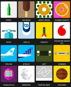 Icon Pop Quiz Brands Level 4