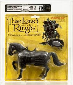Charger of the Ringwraith - Vintage Action Figures From The 1978 The Lord Of The Rings Movie