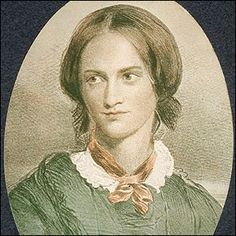Charlotte Bronte, British novelist and author of Jane Eyre, one of the most popular English novels of all time. The eldest of the three famous Bronte sisters, and one brother, all writers. Charlotte used the pen name Currer Bell and also wrote. Charlotte Bronte, Jane Eyre, Agnes Grey, English Novels, Bronte Sisters, Aubrey Beardsley, Writing Poetry, Kinds Of People, Book Authors