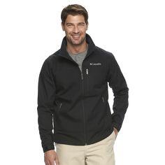 Kohl's - Columbia Smooth Spiral Softshell Jacket, $69.99 - Graphite, Navy, Black