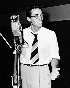 Gregory Peck on CBS Radio, 1949
