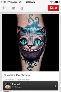 The plan is to get a half sleeve of all my favorite characters once I reach my ultimate weight loss goal. This little guy will be one of them! Though I can't decide between Tim Burton's Chesire Cat or Alice: Madness Returns Chesire Cat.. they're both SO awesome.