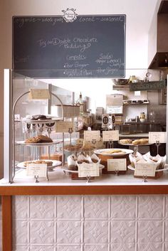 I want my kitchen to look just like Compote Cafe & Bakery in Portland, Oregon