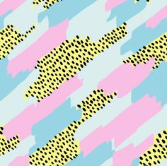 pattern | diagonal swatches + dots