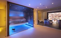 sauna lighting - Google Search