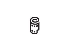 45 clever logos with creative use of film strip and film reel film rh pinterest com Film Strip Photoshop free film strip logo