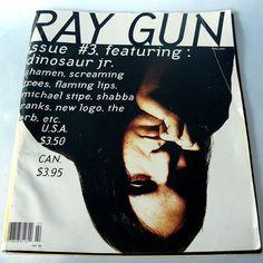 Ray Gun Magazine #3 February 1993 Dinosaur Jr. cover. David Carson art direction   eBay